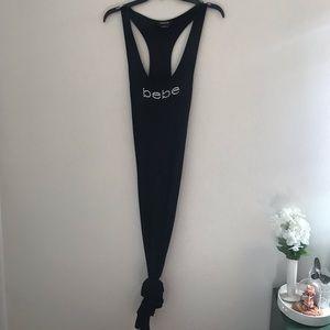 BEBE long black dress